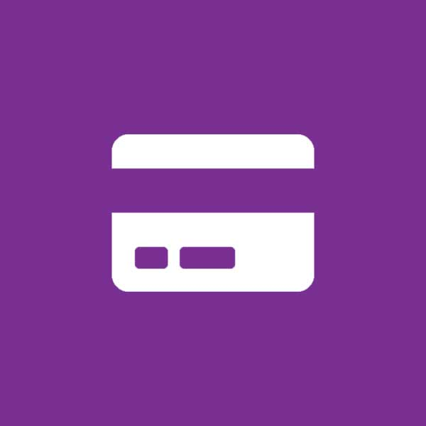 Credit or Debit Card Icon